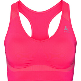 Odlo Seamless High Sport BH Damen hot coral melange